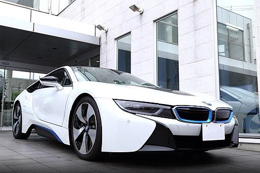 BMW i8 Front (left)