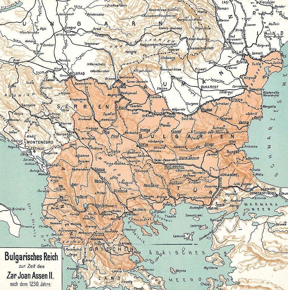 BULGARIA under Iwan ASSEN II