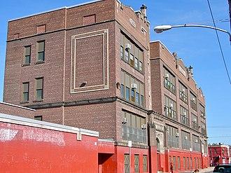 Hunting Park, Philadelphia - Image: B Taylor School Philly A
