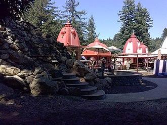 Baba Hari Dass - Shiva Lingam, Ganesha temple, Sankat Mochan Hanuman temple; Mount Madonna Center, CA; 2014.