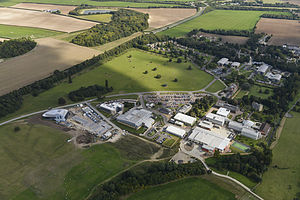 Babraham Institute - Aerial picture of the Babraham Research Campus in 2014
