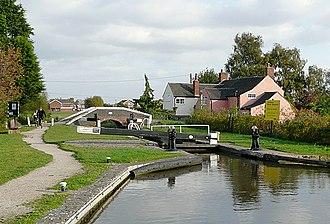 Alrewas - Bagnall Lock