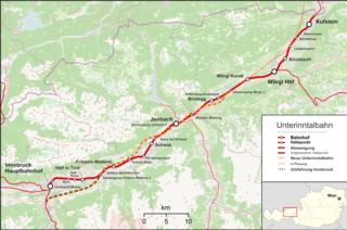 New Lower Inn Valley railway railway line