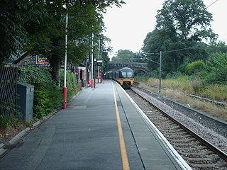 Baildon railway station Railway station in West Yorkshire, England
