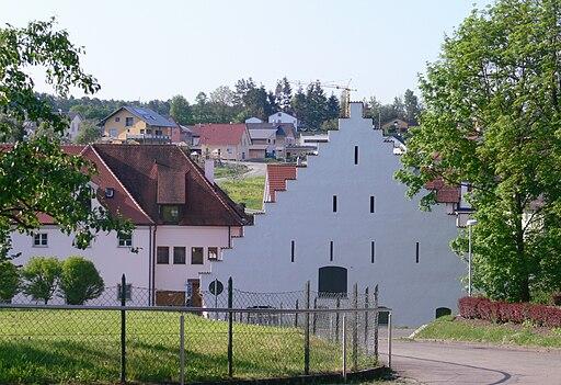 Baindt Kloster Blick zum Ort