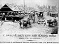 Baird and Bro's saw and planing mill - Hague, Florida.jpg