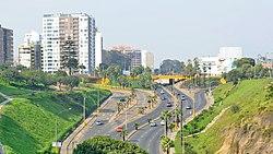 Bajada Armendariz Lima, Peru Skyline 02.jpg