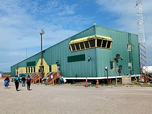 Baker Lake Airport - Image: Baker Lake airport 2014