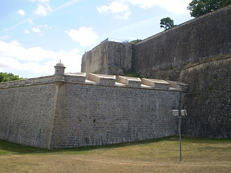 Siege of Pamplona (1813) - Part of the Pamplona fortress.