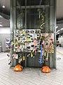 Bamboos in Kyudai-Gakkentoshi Station.jpg
