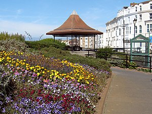 Burnham-on-Sea - Bandstand on the Esplanade, 2009