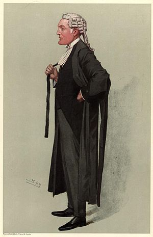 John Eldon Bankes - Caricature of Sir John Eldon Bankes, published in Vanity Fair, 29 March 1906