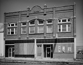 National Register of Historic Places listings in Deer Lodge County, Montana - Image: Barich Block