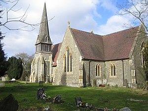 Barkham - Image: Barkham, St James Church geograph.org.uk 135120