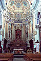 Baroque church apse sanctuary St Peter San Pietro Modica Sicily Sicilia Italy.jpg