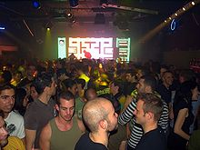 Dance club in Tel Aviv