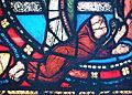 Basilique Saint-Denis - Vitrail de l'Enfance du Christ - Suger.JPG