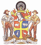 Bathurst, NSW-coat of arms