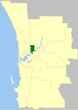 City of Bayswater - Image: Bayswater LGA WA