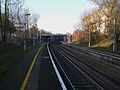 Beckenham Hill stn look north.JPG