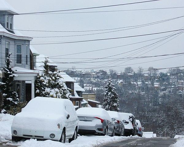 Snow in Beechview