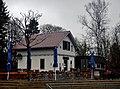 Bei der Neckarquelle, Stadtpark Möglingshöhe, Gastronomie an der Biwakschachtel – altes Bahnwärterhäuschen - panoramio.jpg
