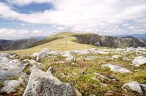 Beinn Fhada - The summit plateau of Beinn Fhada