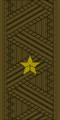 Belarus Armed Forces—03 Major General rank insignia (Khaki)—MIA.png