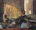 Bemberg Fondation Toulouse- The Pit at the Old Bedford 1889 - Walter Sickert.jpg