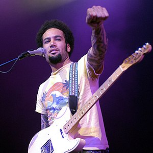 Ben Harper, at Metropolis (Montreal) while the...