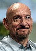 Photo of Ben Kingsley at the San Diego Comic-Con International in 2014.