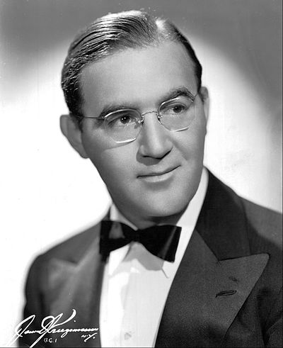 Picture of a band or musician: Benny Goodman