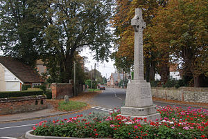 Benson, Oxfordshire - Benson war memorial