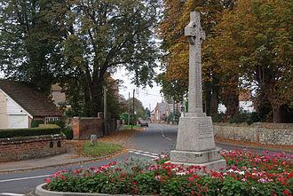 Benson, Oxfordshire - Benson war memorial