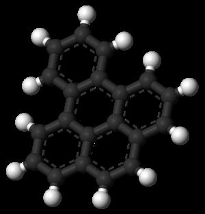 Benzo(e)pyrene - Image: Benzo(e)pyrene 3D balls