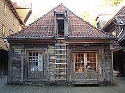 Holzhaus in Bryggen