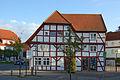 Bergen auf Rügen - Markt (07) Benedix-Haus (11370384183).jpg