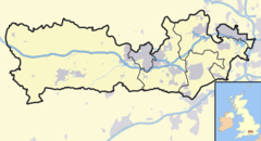 Windsor is located in Berkshire
