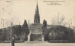 Nationaldenkmal im Viktoriapark auf dem Kreuzberg in Berlin ungenannt / Public domain
