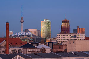 Economy of Berlin - Berlin is the capital city of Germany - the 4th largest economy in the world by nominal GDP. It is part of the European Union and the Eurozone. Berlin is a major international center of business founders, research, tourism and creative industries.