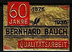 Bernhard Bauch, Pelzwaren, München, 1876-1936 (Reklamemarke).jpg