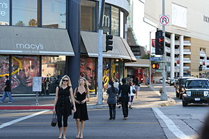 Beverly Center - Beverly Center at the corner of La Cienega Boulevard and Beverly Boulevard