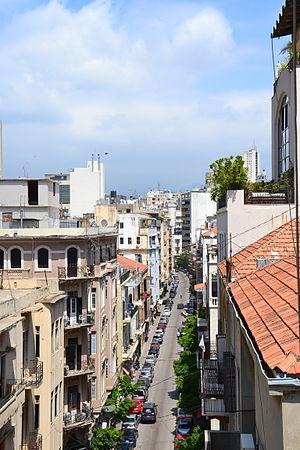 Achrafieh - Rue Gouraud in Gemmayzeh