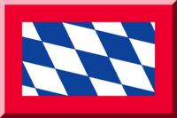 Bianco e Blu a scacchi bordati di Rosso.png