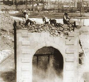 Bibi-Heybat Mosque - The destruction of the mosque by the Bolsheviks in 1936