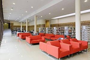 Sainte-Barbe Library - Periodical room