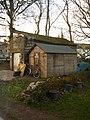 Bike shed at Exford YHA.jpg