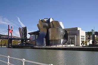 Origin (Brown novel) - The Guggenheim Museum Bilbao, where much of the first part of the novel is set