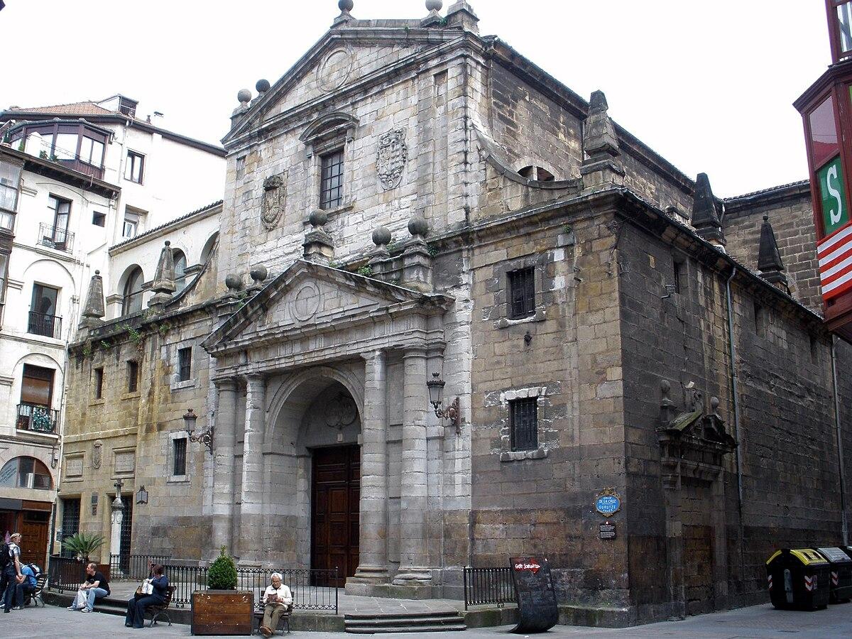 Iglesia de los Santos Juanes (Bilbao) - Wikipedia, la enciclopedia ...