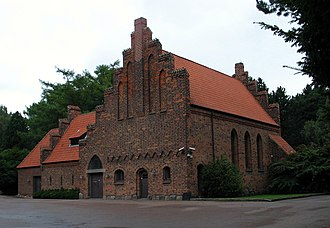 Bispebjerg Cemetery - The South Chapel